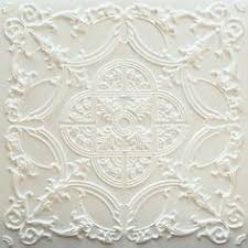 Ornate Ceiling Tiles by Elizabethan Shield Faux Tin Ceiling Tile 24