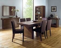 akita 6 seater panel dining table