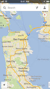 Maps Google Com San Francisco by Google Launches Native Maps For Ios And Here U0027s The Deep Dive On