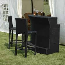 Tall Patio Set enchanting bar style patio furniture sets of resin wicker counter