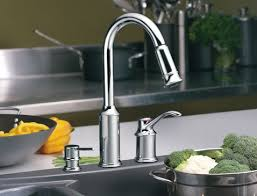 moen kitchen faucet with soap dispenser best view of moen pull out kitchen sink faucet best kitchen
