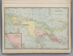 European Exploration Map History Of New Guinea Exploration Maps From The 18th Through 20th