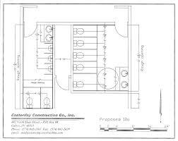 handicap bathroom layouts