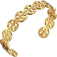 Tory Burch Beaded Chandelier Earring Tory Burch Logo Bead Cuff Bracelet Shipped Free At Zappos