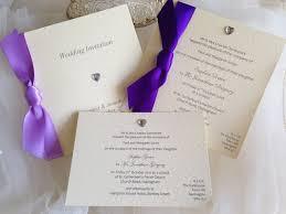 Wedding Invitations Purple Cheap Wedding Invitations From 60p Affordable Wedding Invitations