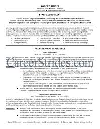 Example Accounting Resume by Sample Resume Cpa Resume Cv Cover Letter Staff Accountant Resume