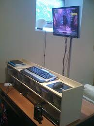 Standing Desk For Gaming Diy Pole Based Standing Desk Design Lifehacker Australia