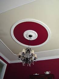 What Size Ceiling Medallion For Chandelier Faux Tray Ceiling U003d Ceiling Medallion Crown Molding Paint