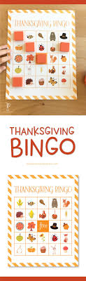 thanksgiving bingo printable for give your a
