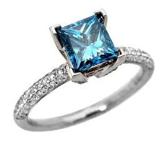 blue diamond wedding rings best 25 blue diamond rings ideas on blue diamonds