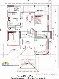 floor plan square foot plans house and elevation sq ft home 2500