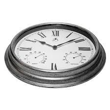 Outdoor Pedestal Clock Thermometer Outdoor Pedestal Clocks Target