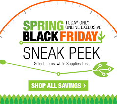home depot black friday march home depot sneak peek spring black friday milled