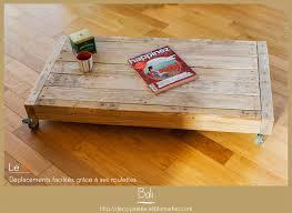 meuble fait en palette table basse bali u2013 deco palette