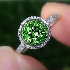 green diamonds rings images Green diamond ring white house designs jpg