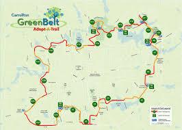 Buffalo Creek Trail Map Adopt A Trail The Carrollton Greenbelt