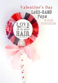 s day lollipops easy hair band lollipop free printable winter