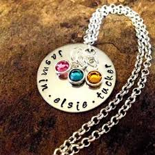mothers day jewelry personalized shop s day necklace with names on wanelo