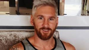 Lionel Messi Halloween Costume Barcelona Star Lionel Messi Explains Dyed Hair Blond