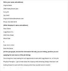 physical therapy cover letter cover letter examples of physical