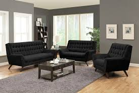 High Back Tufted Loveseat 2 Pc Natalia Collection