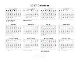 thanksgiving yearly calendar holidays blank landscape