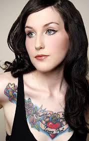 17 best best chest tattoos women images on pinterest tattoo