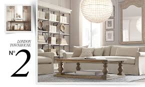 Restoration Hardware Living Rooms Restoration Hardware Would Like To Help You Decorate That Tiny