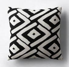 Cushion Covers For Patio Furniture by Patio Furniture And Decor Trend Bold Black And White