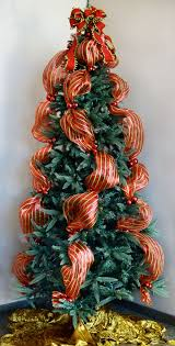how to decorate a christmas tree with ribbon vertically how to