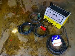 esab power tig 255 air cooled tig welding machine