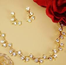 gold necklace sets images Lauren sparkle gold necklace set jpg