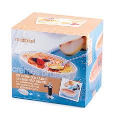 chalumeau de cuisine mastrad kit crèmes brûlées mastrad