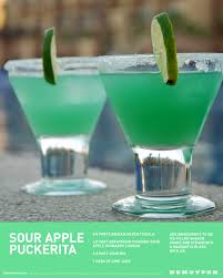 sour apple martini apple puckerita recipe sour mix schnapps and lime juice