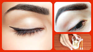 Glow In The Dark Eyelashes How To Get Thick Eyebrows Fast And Naturally Home Remedies For