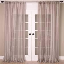 Shimmer Sheer Curtains Buy Sheer Window Panels From Bed Bath U0026 Beyond