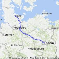 map of kiel navigate hilly cycling route in land berlin bikemap your bike
