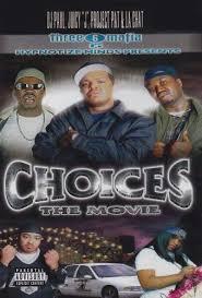 three 6 mafia choices the movie dvd 2001 ebay