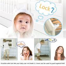 Child Lock Kitchen Drawers by Magnetic Baby Child Safety Storage Kitchen Cabinet Door Drawer 8