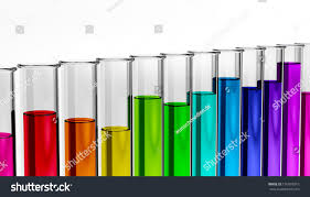 biology industry solutions test tube chemistry stock illustration