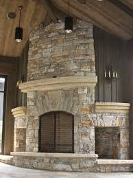 stone fireplace palillos stone masonry native fireplace with wood storage sample 07