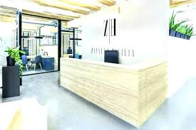 Furniture Reception Desk Second Marketplace Modern Reception Desk Set Nobel Modern