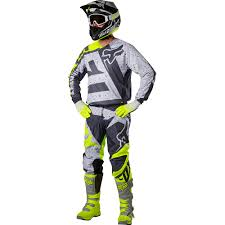 motocross fox helmets fox racing 2017 mx new v2 nirv grey flo yellow dirt bike