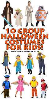 10 creative u0026 unique halloween group costume ideas for kids