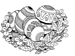 free printable easter coloring pages kids