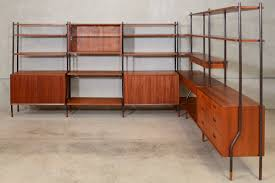 Teak Room Divider Six Section Teak Wall Unit Room Divider By Lyby Mobler Arroyo