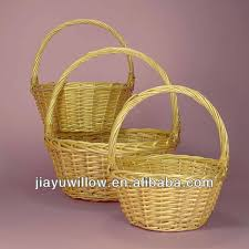 empty gift baskets mini wicker baskets with handles small wicker baskets without