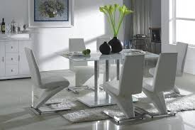 Formal Contemporary Dining Room Sets Contemporary Glass Oval Shape Dining Room Table For Luxury Look