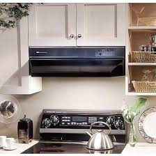 broan kitchen fan hood range hoods broan 88000 cabinet mount available in amazing black