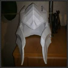 2 davion the dragon knight u0027s helmet for cosplay free papercraft